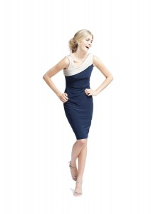 Navy Blue: The Hot New Colour For Spring/Summer Mother Of The Bride Dresses