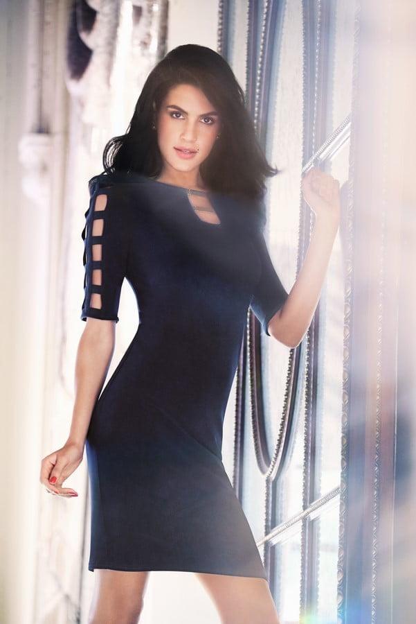 AW163 black dress 2017 (Copy)